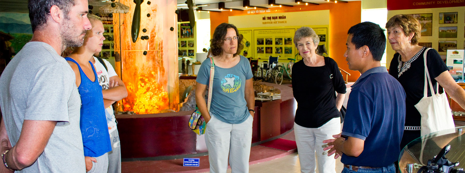 Visit our Mine Action Visitor Center